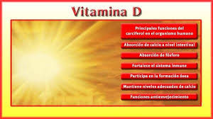 Vitamina D Beneficios