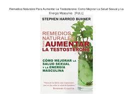 Remedio Aumentar Testosterona